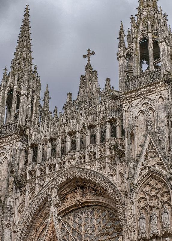 Руан. Cathédrale Notre-Dame de Rouen, Собор Руанской Богоматери. - Надежда Лаптева