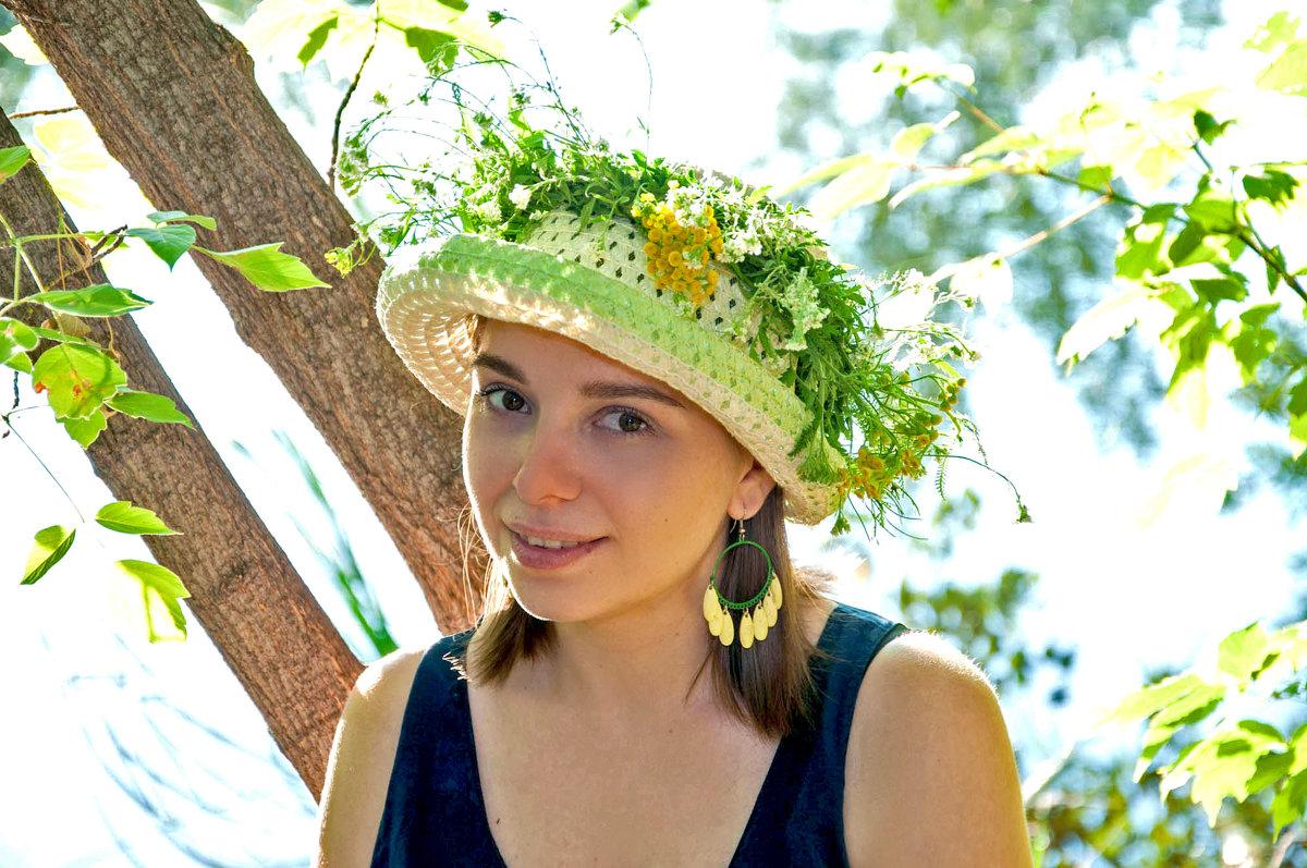 Портрет в шляпке - delete