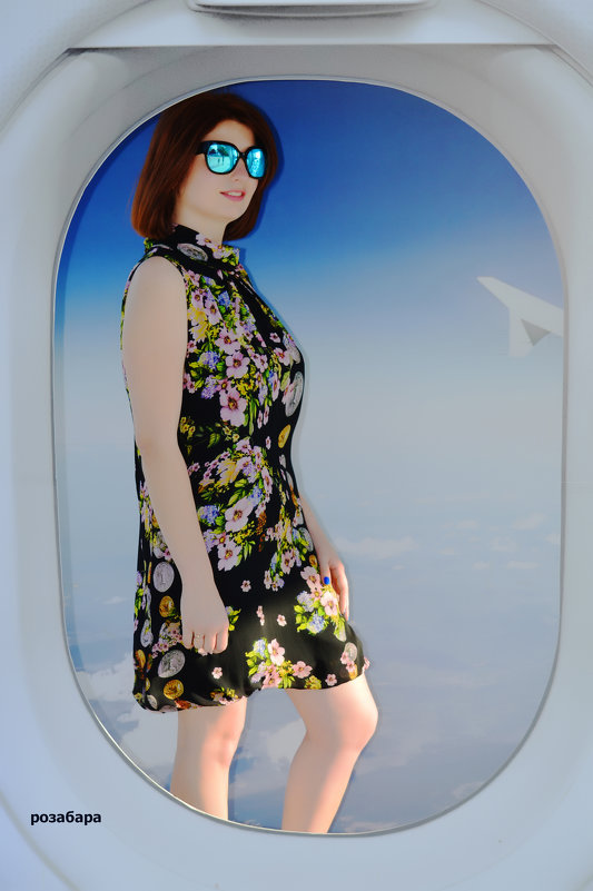 Приятного полёта вам! - Роза Бара