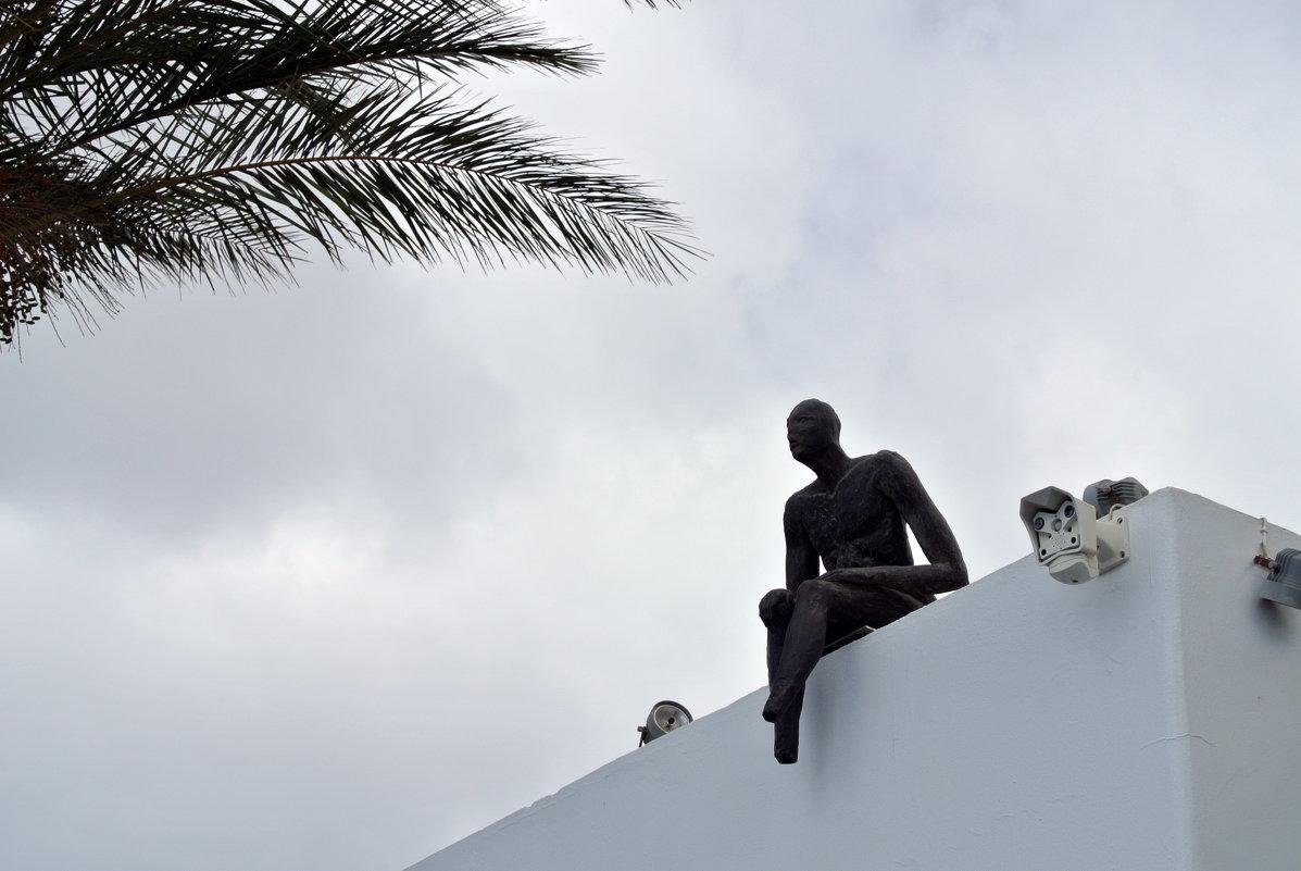 Одинокий на крыше.. - Любовь С.