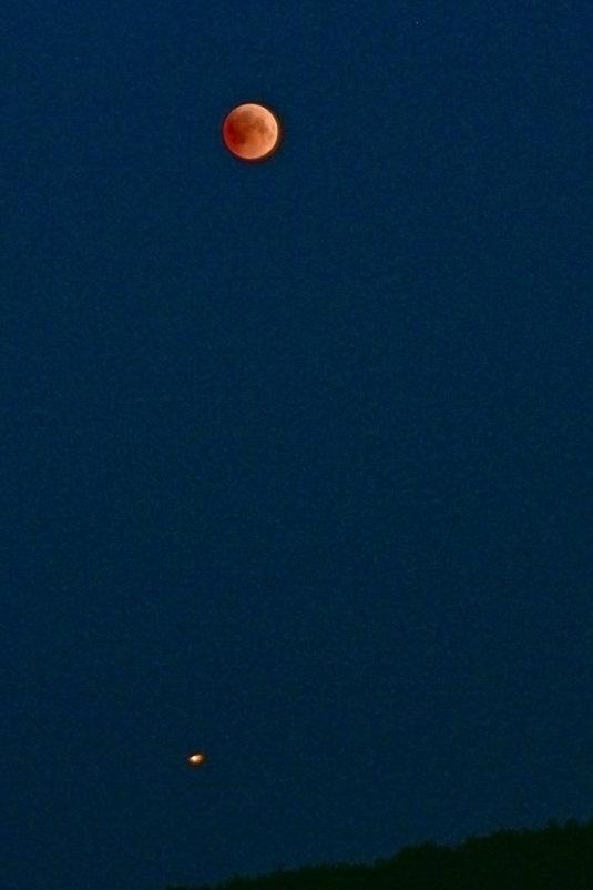 Луна и Марс. - Наталья