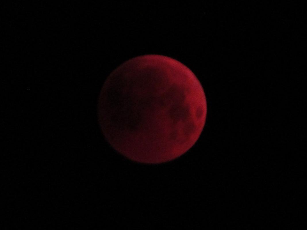 28.07.18. Лунное затмение -5 - Светлана