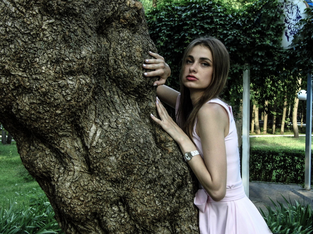 в парке - Юлия Денискина