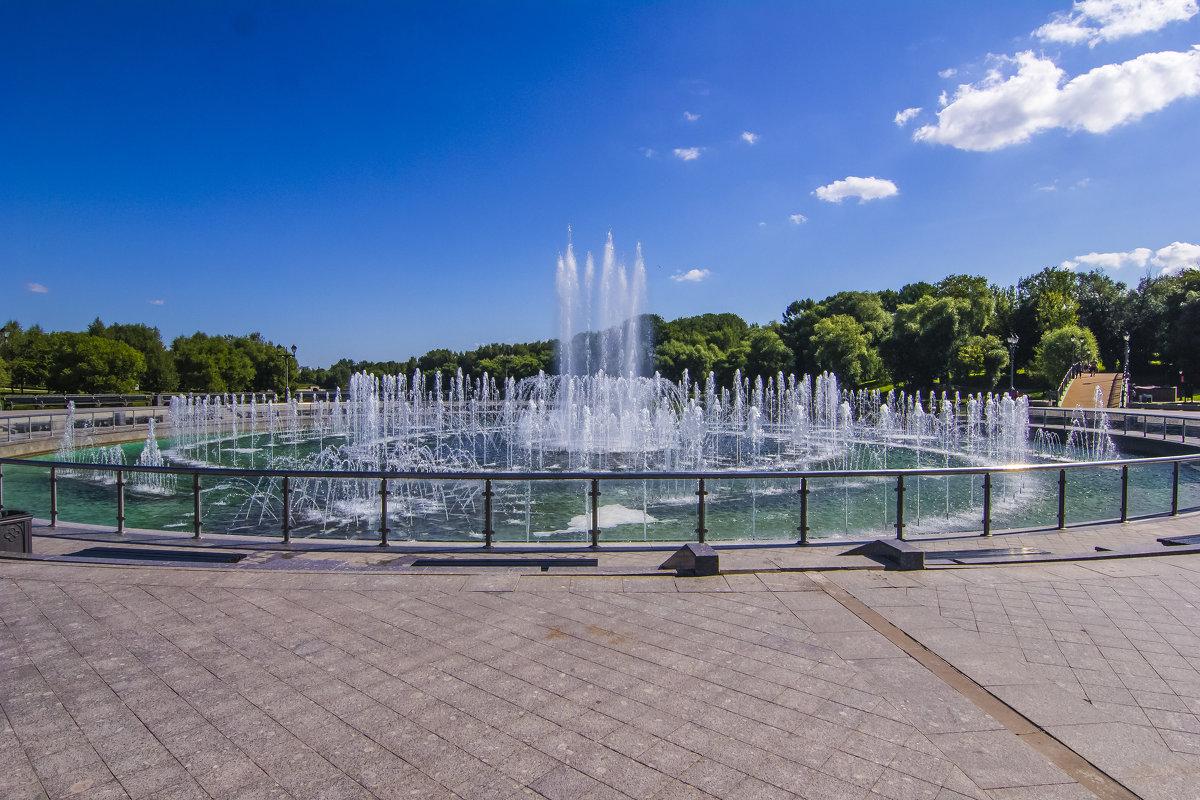 Царицыно, фонтан - Петр Беляков
