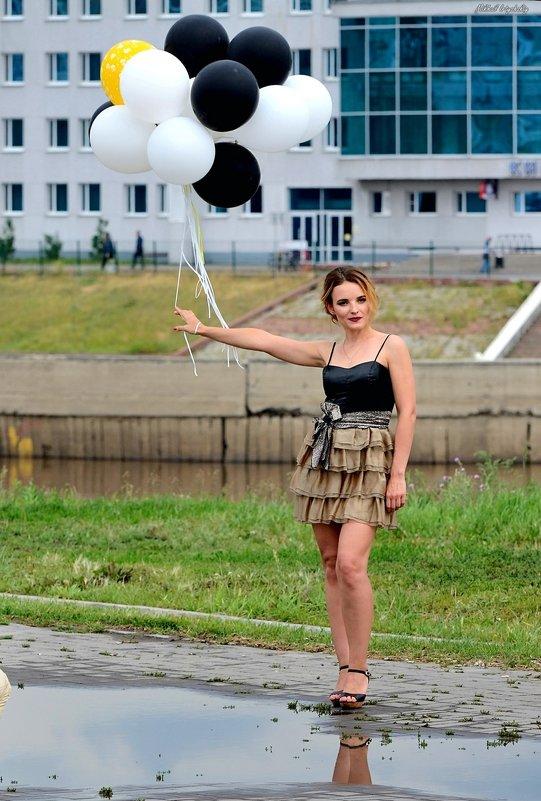 Девушка с шарами - Mikhail Irtyshskiy
