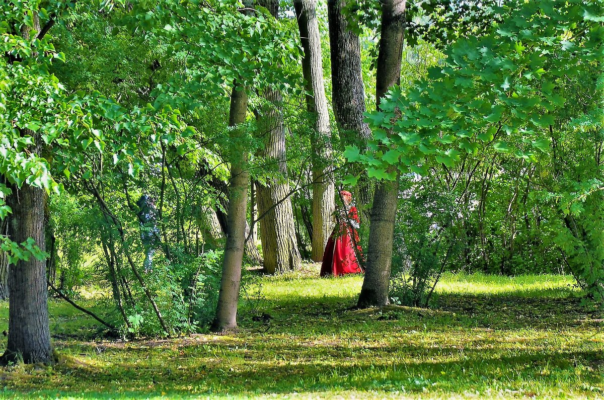 Среди зелени Парка... - Sergey Gordoff