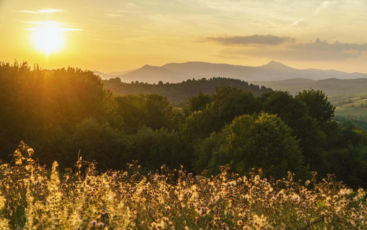 Закат в горах - Сергей Форос