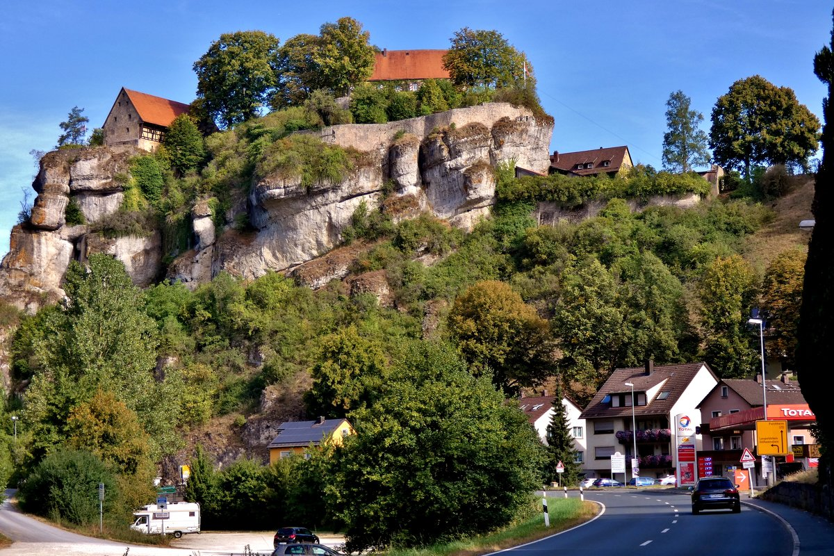 Крепость  Поттенштайн, Франконская  Швейцария - backareva.irina Бакарева