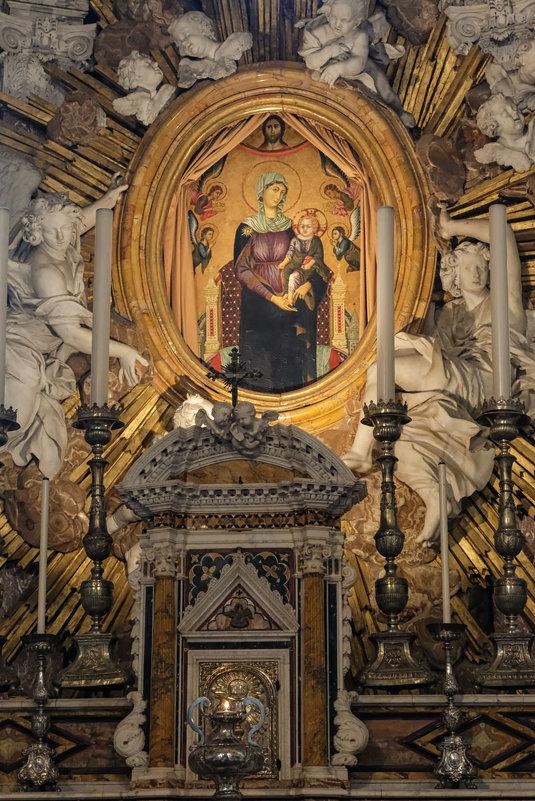 Умбрия. Орвието. Кафедральный собор (Duomo di Orvieto). Придел Св. Бриция. Мадонна делла Тавола - Надежда Лаптева