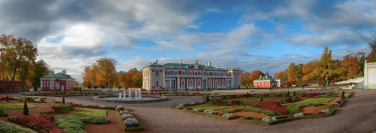 Дворец Кадриорг. Таллин - Priv Arter