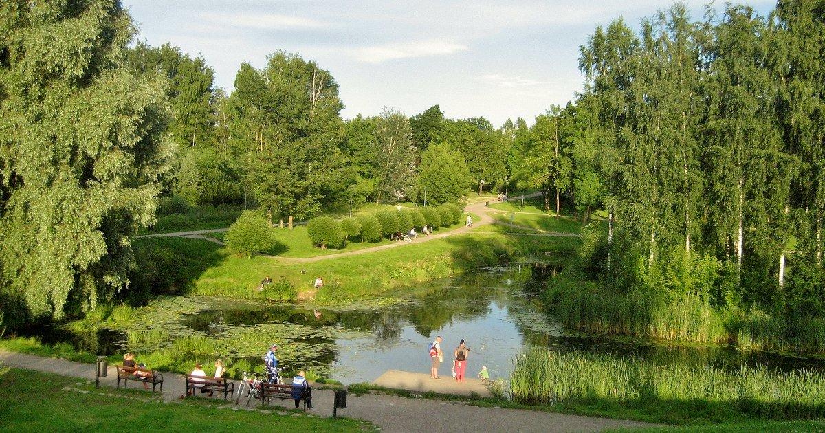 В парке - Leonid Tabakov