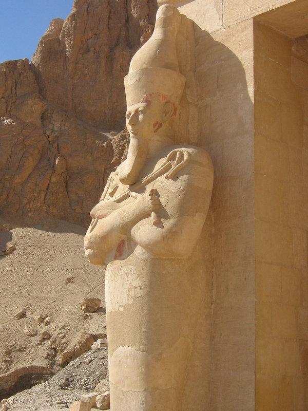 Храм царицы Хатшепсут в Луксоре - tina kulikowa