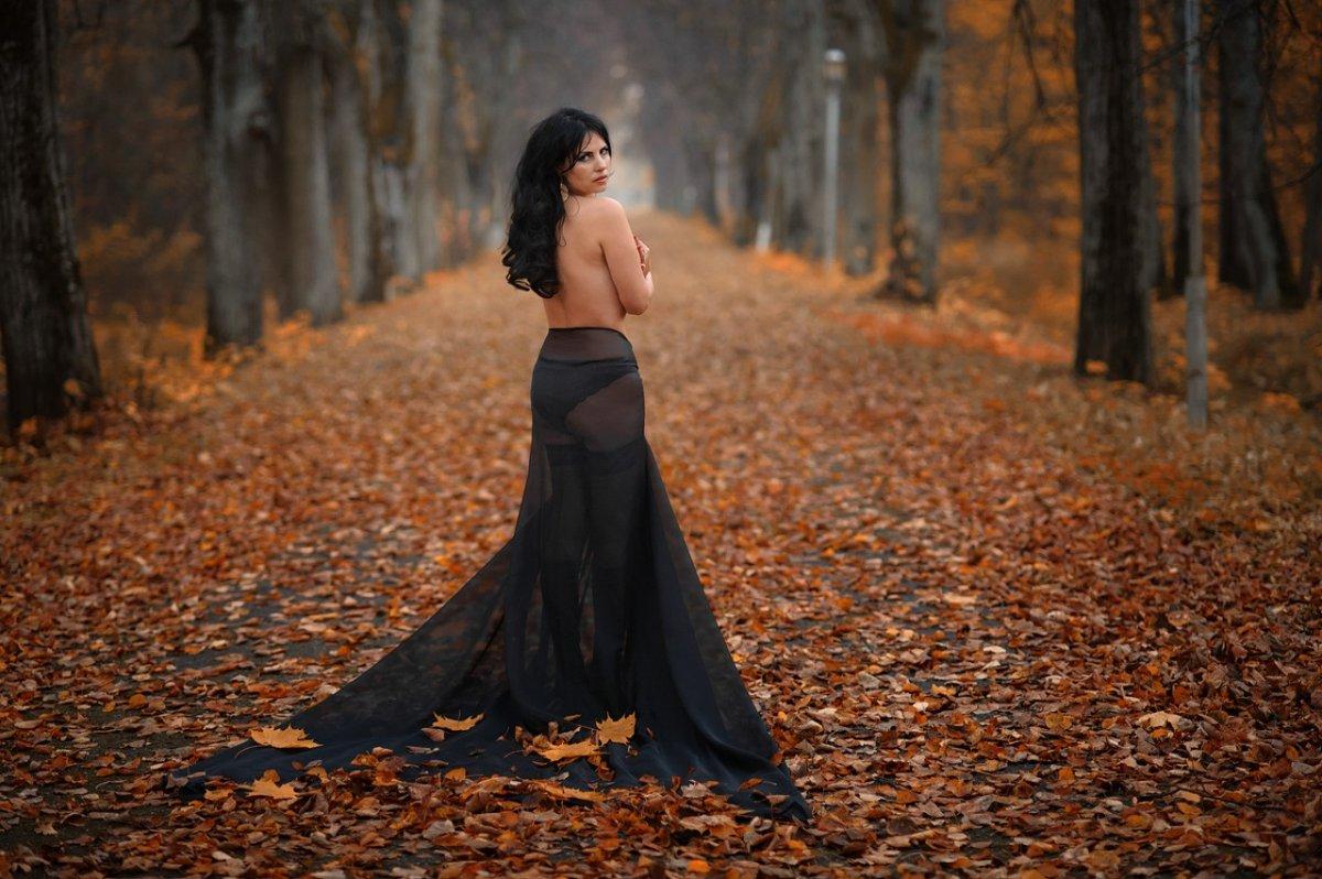 Осенний листопад. - Анжелика Маркиза