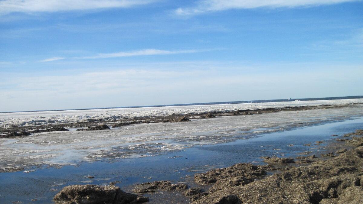 Конец марта. Финский залив - Маера Урусова
