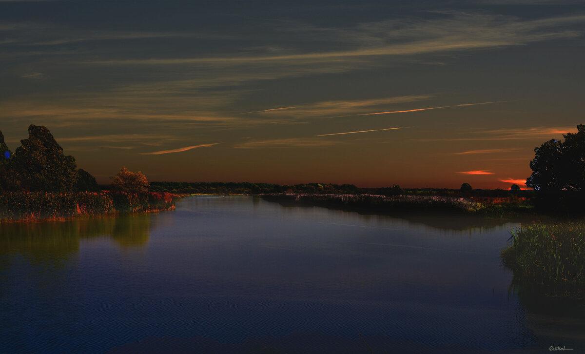 На закате - Юрий
