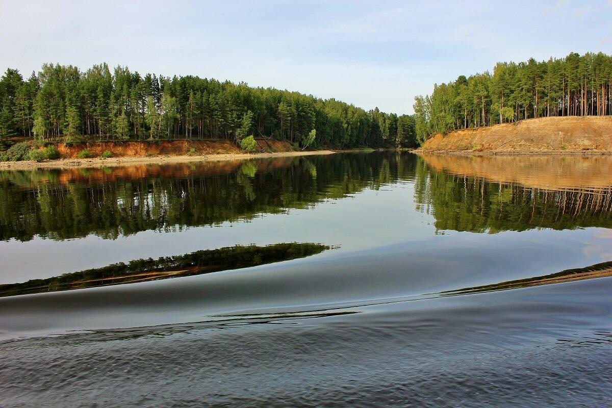 Волга близ Углича - Владимир Соколов
