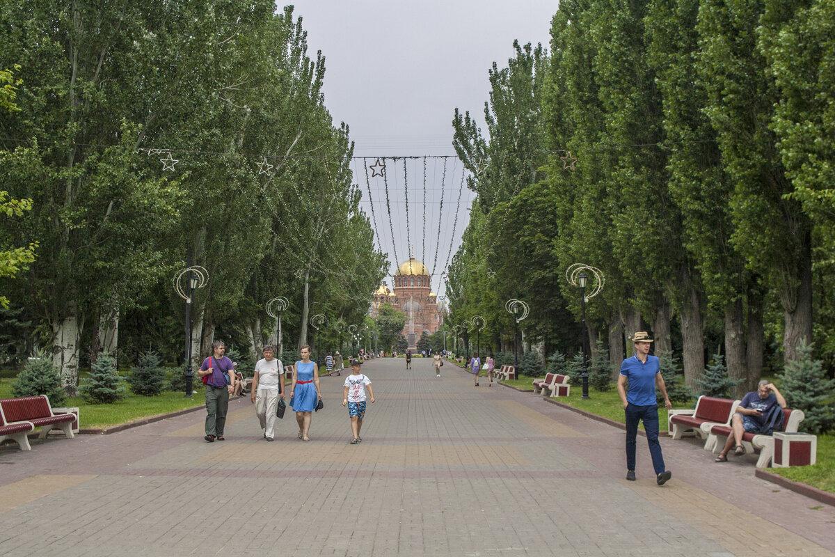 Волгоград - Аллея Героев - Дмитрий Аргунов