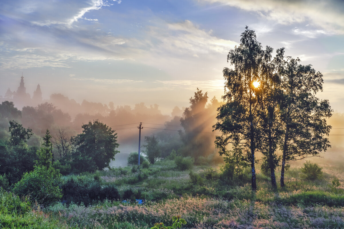 Утренний туман. - Viacheslav Birukov