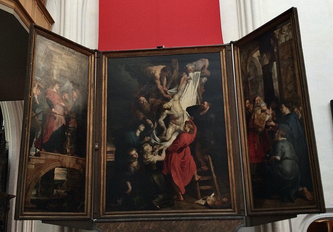 Рубенс, «Снятие с креста». Собор Антверпенской Богоматери - Eldar Baykiev