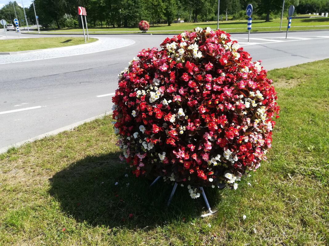 Цветочный шар- клумба - veera (veerra)