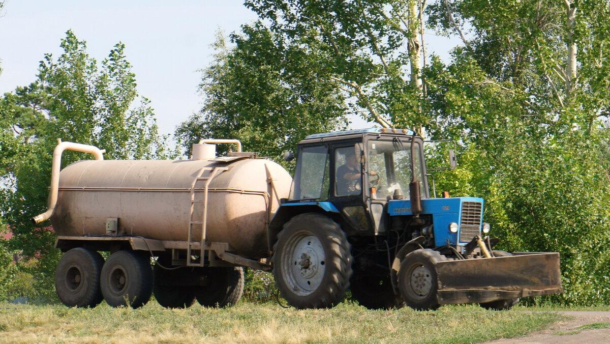 Машинно-тракторный агрегат. - сергей