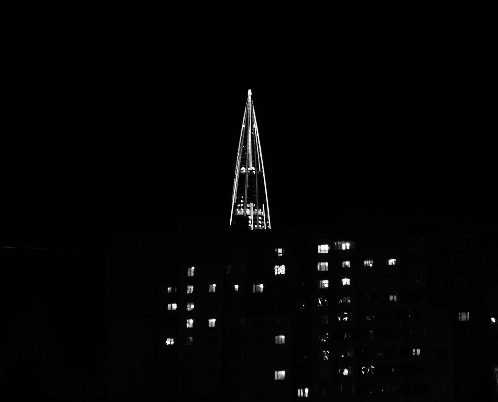 ночью у станции метро Беговая - Елена