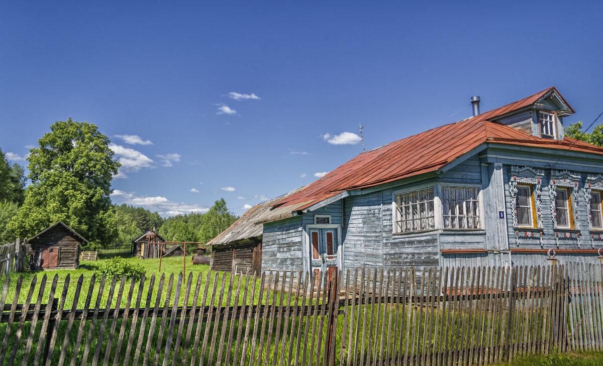 Деревенский дом - Сергей Цветков