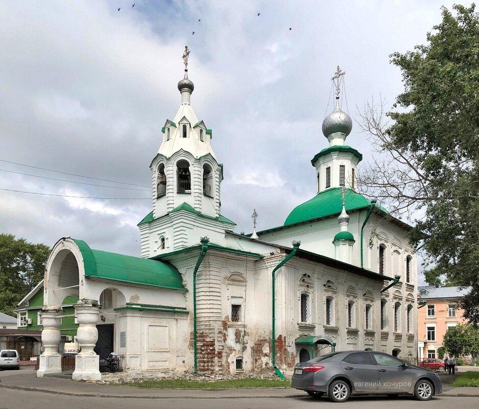 Вологда. Церковь Покрова Пресвятой Богородицы на Торгу - Евгений Кочуров