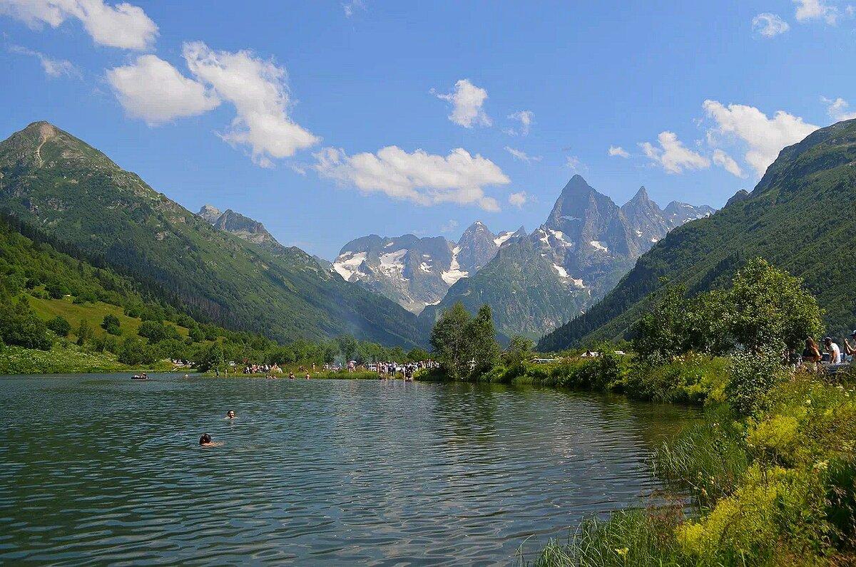 Туманное озеро. Кавказ. - Татьяна Тюменка