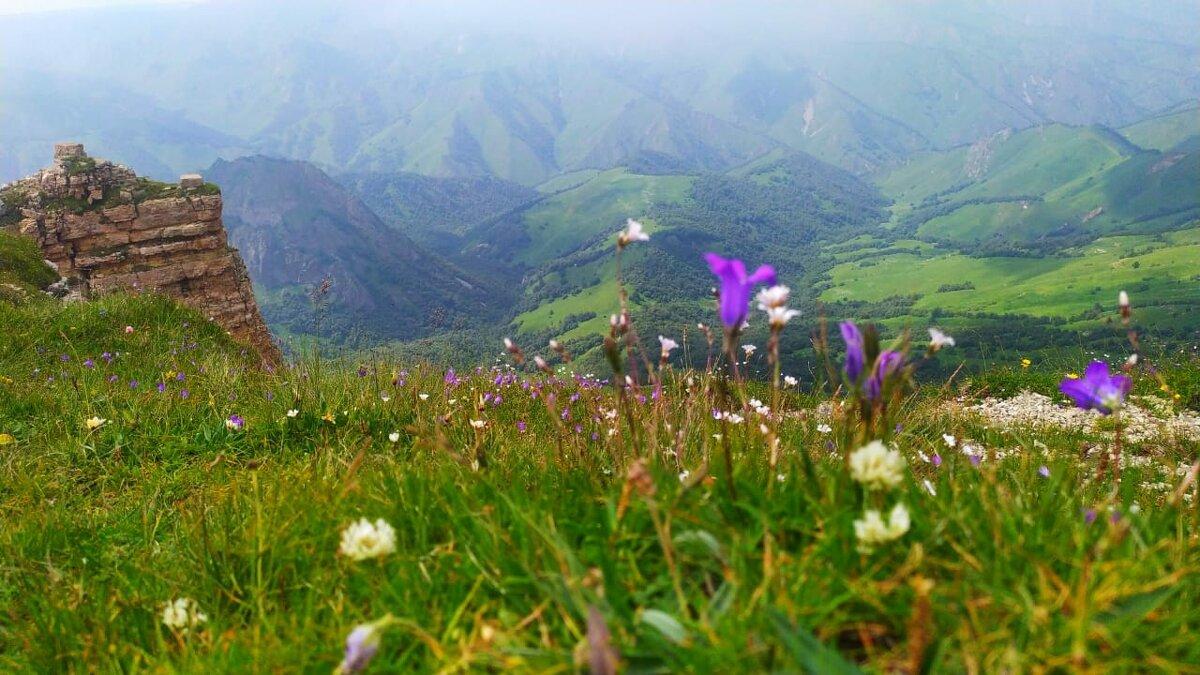 Горный пейзаж.. - Клара