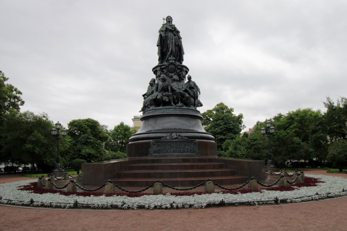 Памятник Екатерине. - веселов михаил