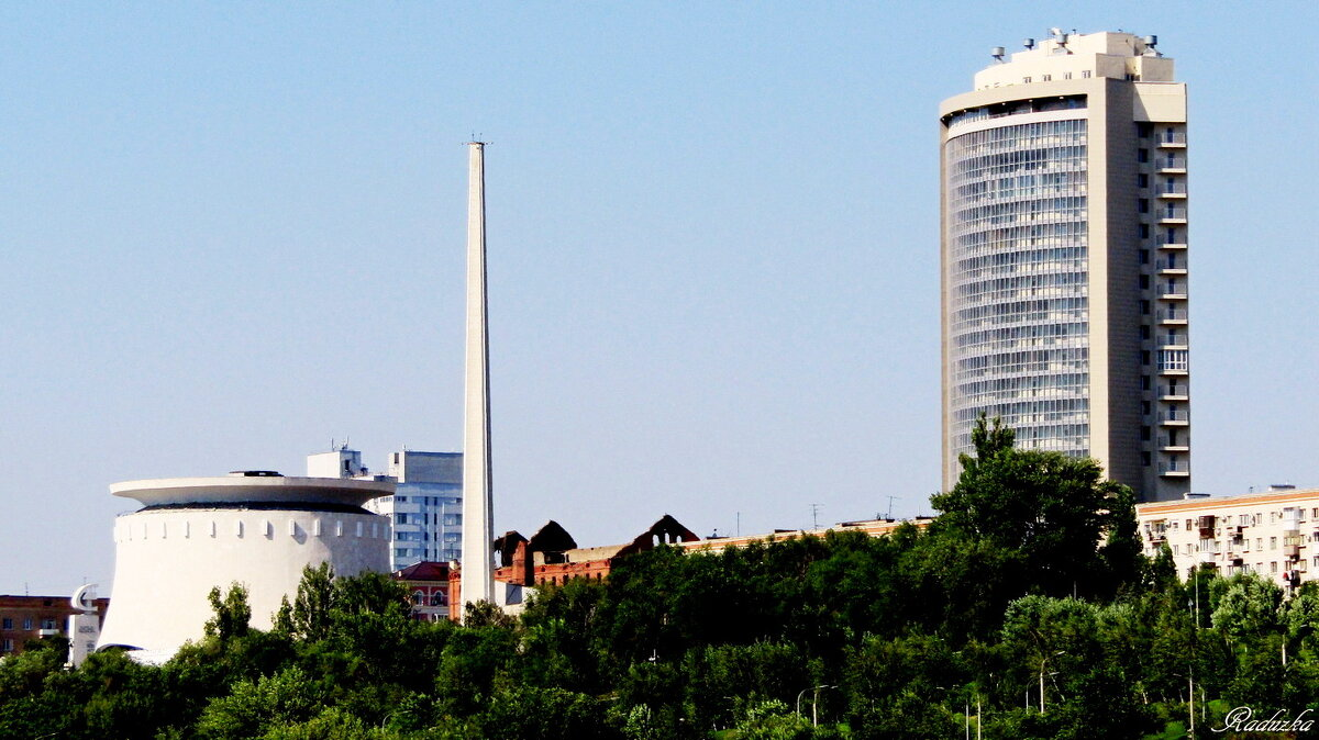 Вид с Волги на Волгоград - Raduzka (Надежда Веркина)