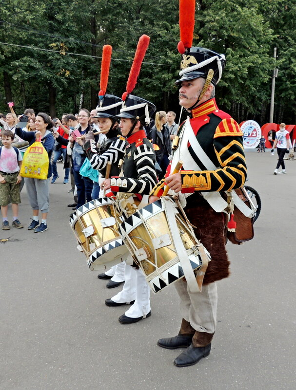 Барабаньщики День города Москвы 2020 - Александр Качалин