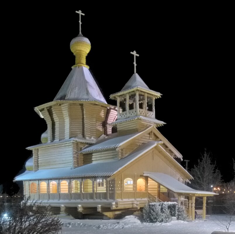 Деревянный храм - Андрей К