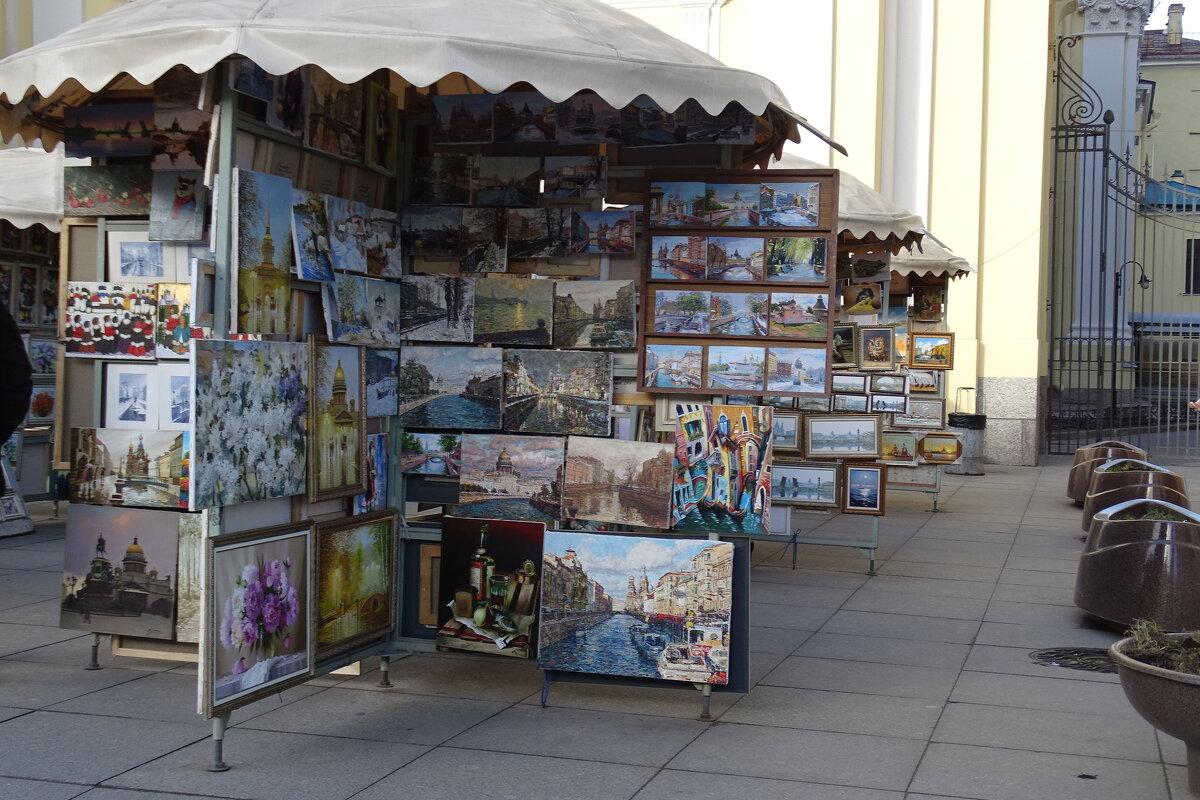 Санкт-Петербург на картинах - Sabina