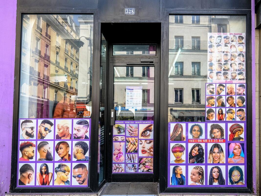 Новый Париж, новый парикмахер - Георгий А