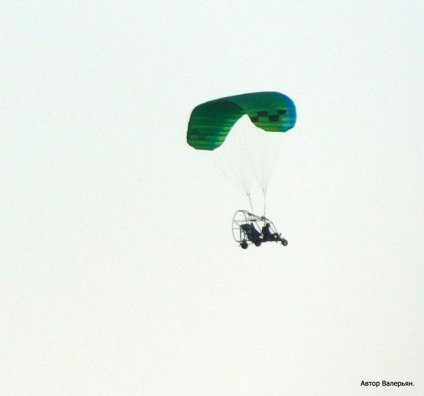 Летающий человек. - Валерьян Запорожченко