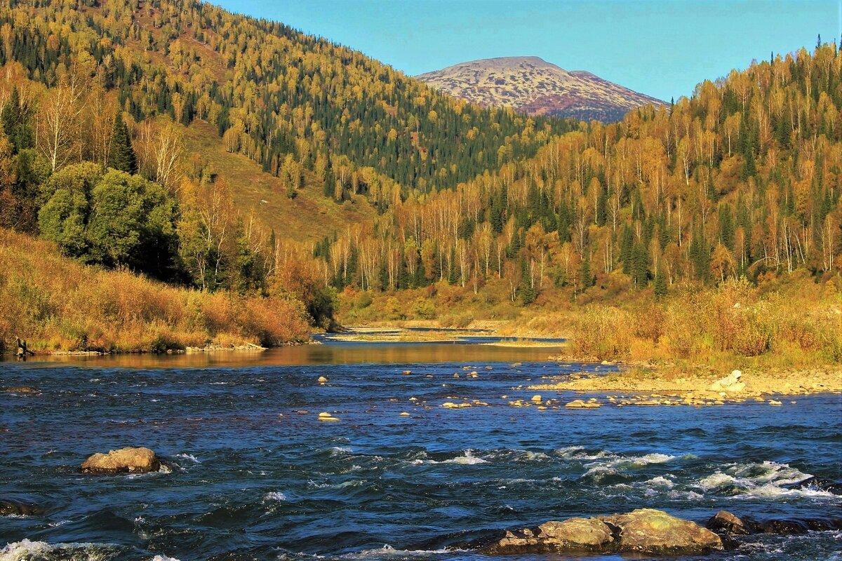 На реке Усе в сентябре - Сергей Чиняев