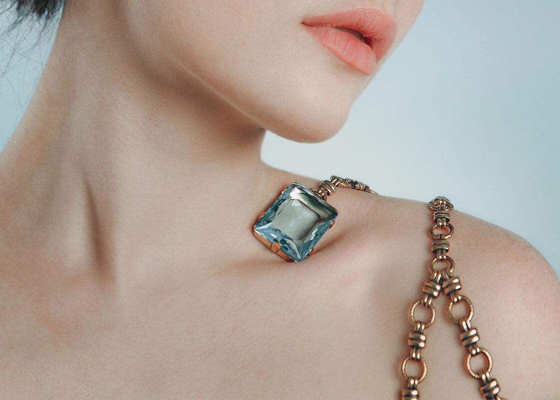 Blue crystal - Olga Burmistrova