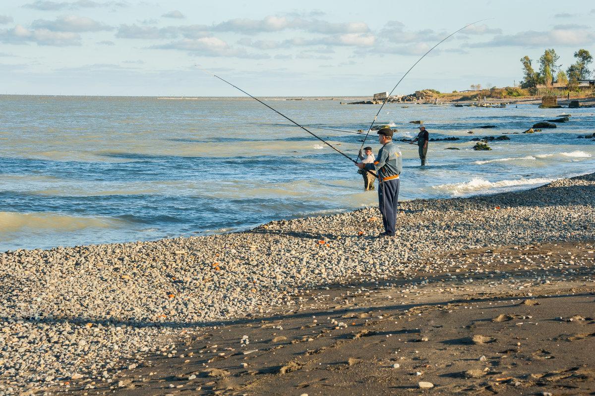 ловля рыбы в марте на море