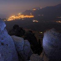 Ночная Алушта :: Михаил Баевский