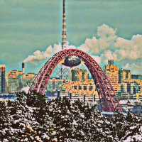 Мост в Крылатском :: Кристина Рагозинскя