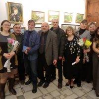 Открытие выставки художника Юрия Никанорова. Великие Луки, 20.12.2013 :: Владимир Павлов