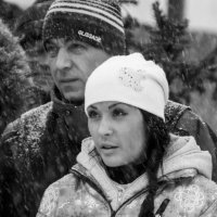 Ожидание в снегопад... :: Дмитрий Евсеев