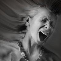 "портрет в стиле арт-шок ""Крик"" :: Эдуард Басов"