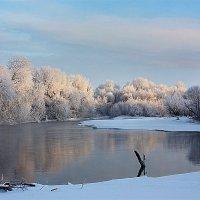 Зима у реки. :: Наталья Юрова