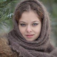 Зимний портрет. :: Анна Тихомирова