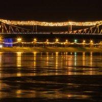 Мост через Волгу :: Виктор Баштовой