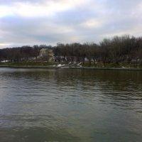 Москва. Фрунзенская набережная 25.12.2013 :: Владимир Прокофьев