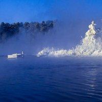 Зимний островок. :: Алексей. Бордовский